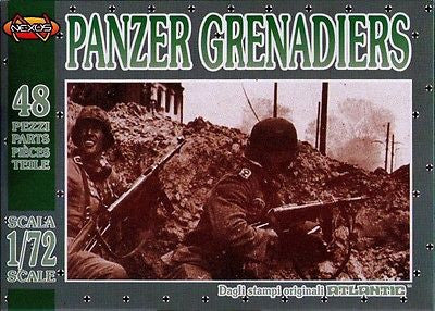 Atlantic (Nexus) - Panzer grenadiers - 1:72