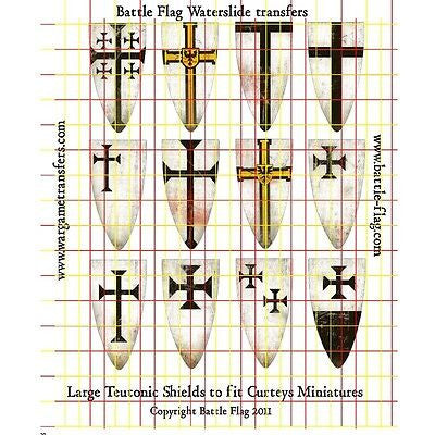 Battle Flag - Shields of The Teutonic Knights (Early Medieval) - 28mm
