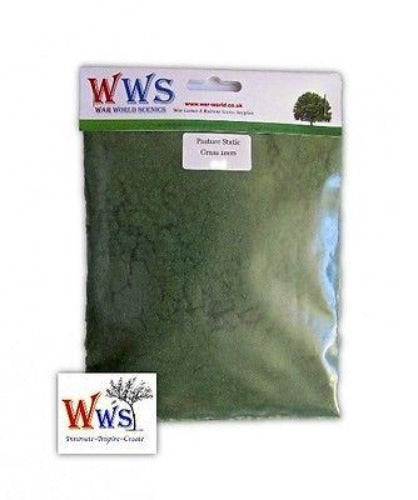 WWS - Static grass - Pasture grass (250g.) - 1mm
