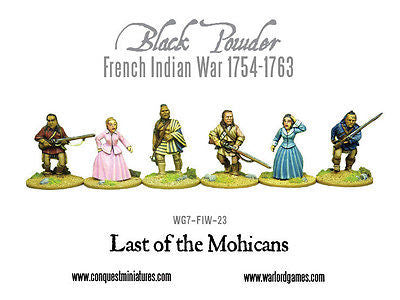 Warlord Games - Black Powder WG7-FIW-23 - Last of the mohicans - 28mm