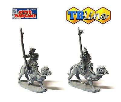 TB LINE 4176 - Mongol lancers mounted on camels - 10mm