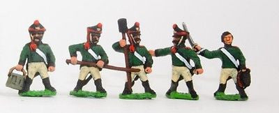 Essex - Russian 1813-15: Artillerymen - 15mm