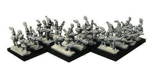 Warmaster - Empire Handgunners - 10mm