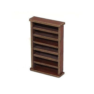 4GROUND - 28mm - Large book shelf in medium wood - 28S-FAB-002M
