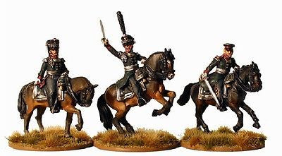 Perry RN2 - Russian Mounted field officers - 28mm