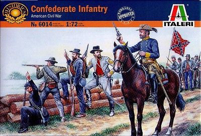 Italeri - Confederate infantry (American Civil War) - 1:72