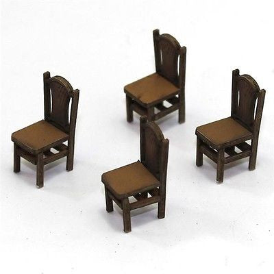 4GROUND - Sheaf back chair late 1700s in light wood - 28mm - 28S-FAB-006L