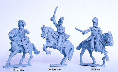 Perry - FN119 - French Heavy Cavalry Generals de Division - 28mm
