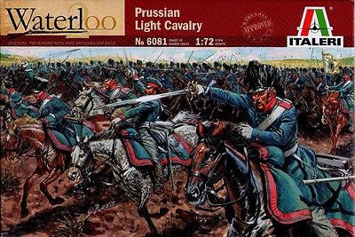 Italeri - Waterloo - Prussian light cavalry - 1:72