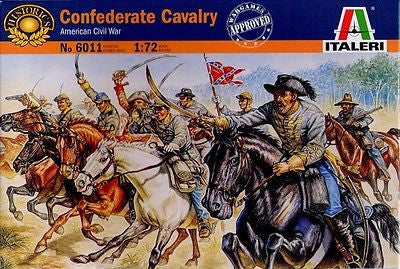 Italeri - 6011 - Confederate cavalry (American Civil War) - 1:72