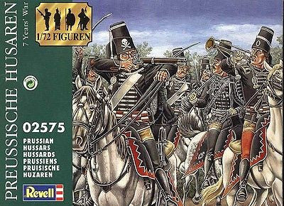 Revell - Prussian hussars (7 years' war) - 1:72