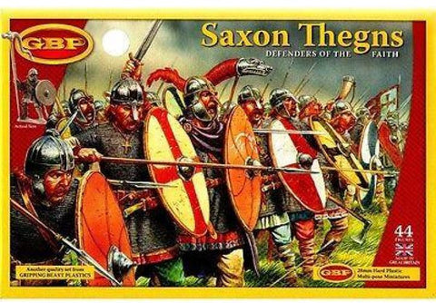 Gripping Beast - Saxon Thegns - 28mm - GBP02