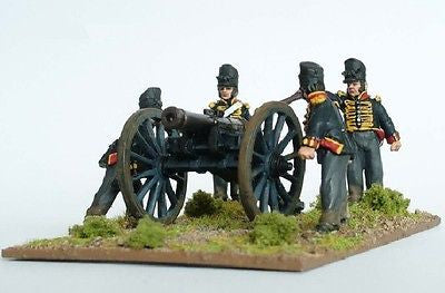Perry - British Foot Artillery firing 9 pdr - 28mm