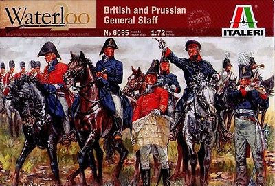 Italeri - Waterloo - British and Prussian general staff - 1:72