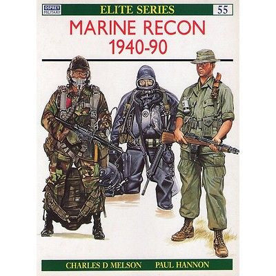 Osprey - Elite Series - N.55 - Marine recon 1940-90