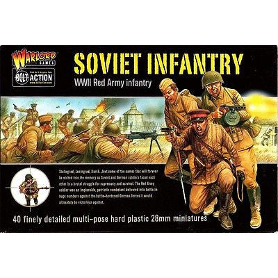 Warlord Games - Bolt Action - Soviet infantry (WWII Red army infantry) - 28mm