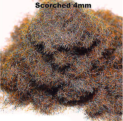 WWS - Static grass - Scorched grass (100g.) - 4mm
