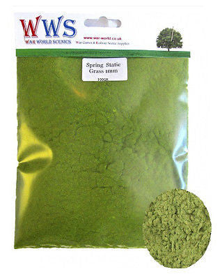 WWS - Static grass - Spring mix (100g.) - 1mm