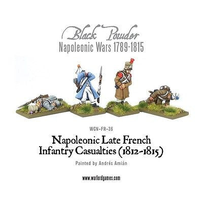 Warlord Games - Black Powder -Napoleonic late french casualties (1812-15) - 28mm