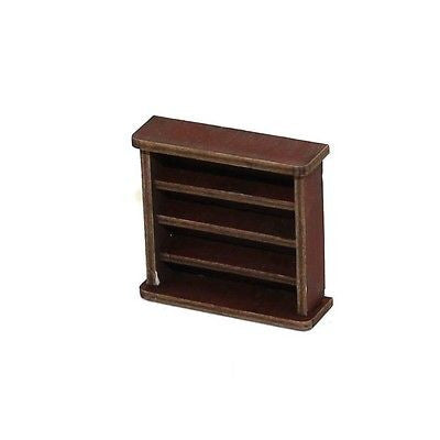 4GROUND - Small book shelf in medium wood - 28mm - 28S-FAB-001M