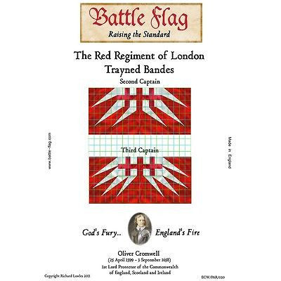 Battle Flag - The Red Regiment of London Trayned Bande C - 28mm