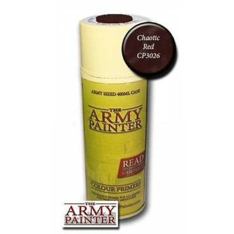 The Army Painter - Color primer Chaotic red - 400ml