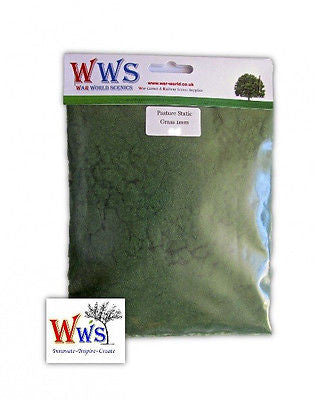 WWS - Static grass - Pasture grass (100g.) - 1mm
