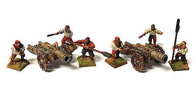 Warhammer Fantasy - Empire cannon and crew - 28mm