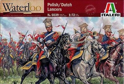 Italeri - Waterloo - Polish/Dutch lancers - 1:72