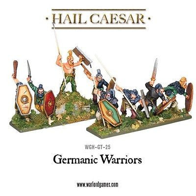 Warlord Games - Hail Caesar - Germanic warriors - 28mm