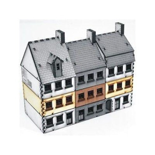 4GROUND - Terrace houses (Type 1) add-on - 15mm - 15S-EAW-103A