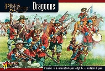 Warlord Games - WGP-07 - Pike & Shotte - Dragoons - 28mm
