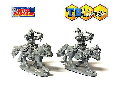 TB LINE 4173 - Mongol heavy cavalry with bow - 10mm