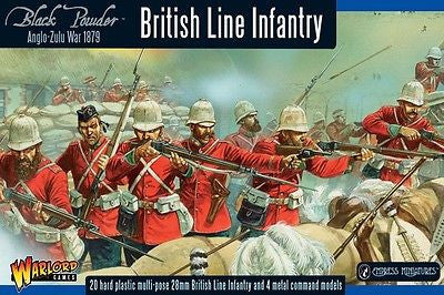 Warlord Games - Black Powder - British line infantry - 28mm