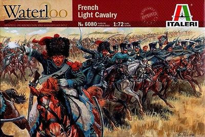 Italeri - Waterloo - French light cavalry - 1:72