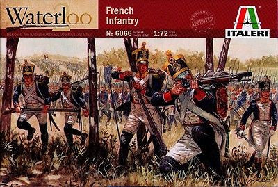 Italeri - Waterloo - French infantry - 1:72