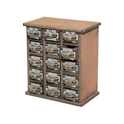 4GROUND - Filing cabinet P-Z in light wood - 28mm - 28S-FAB-050L