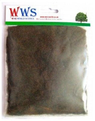 WWS - Static grass - Scorched grass (100g.) - 1mm