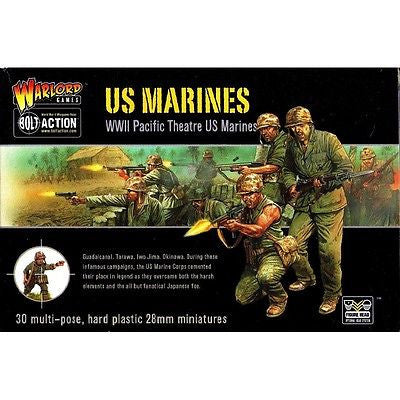 Warlord Games - Bolt Action - US Marines (WWII Pacific theatre US Marines) - 28mm