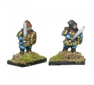 Chariot - Qin Chinese Swordsmen (Guard) - 10mm