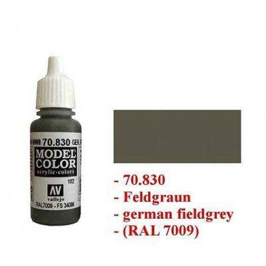 Vallejo Color - 70830 - German fieldgrey WWII - 102 - 17ml
