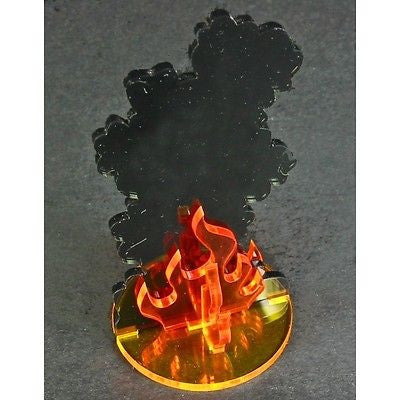 Litko - TS105-XL - Extra Large Flaming Wreckage Marker