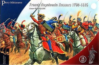 Perry - FN140 - French napoleonic hussars 1792-1815 - 28mm