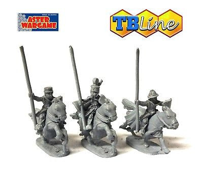 TB LINE 4163 - Command group of the teutonic knights - 10mm