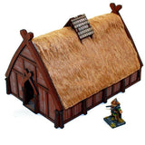 4GROUND - Norse dwelling - viking age norse family dwelling - 28mm - 28S-DAR-110