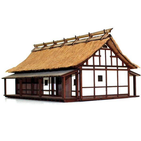 4GROUND - Peasant Elder's house - 28mm - 28S-EDO-109