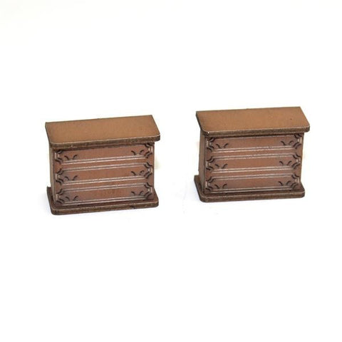 4GROUND - 28mm - 28S-FAB-021L - Chest of draws (A) in light wood