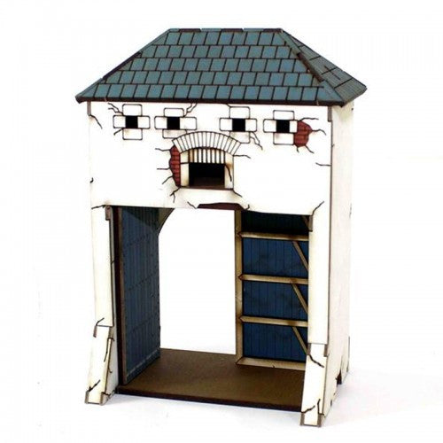 4GROUND - Gated dovecote - 28mm - 28S-ABP-A03
