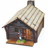 4GROUND - New England pioneer's log timber cabin - 28mm - 28S-AML-101