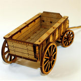 4GROUND - C19th General purpose horse wagon - 28mm - 28S-CAW-302